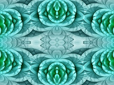 Turquoise pattern