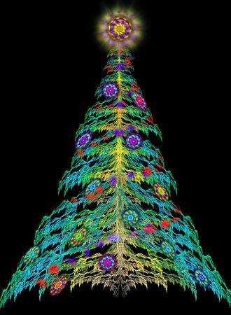 newyear: New-year fir tree