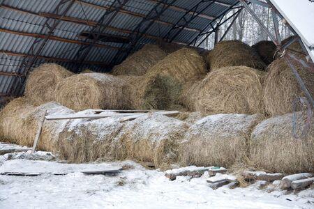 hayloft: Hayloft  Stock Photo