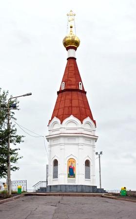 dignidad: Una imagen de esta capilla se encuentra en los billetes del Banco de Rusia por la dignidad de cada diez rublos