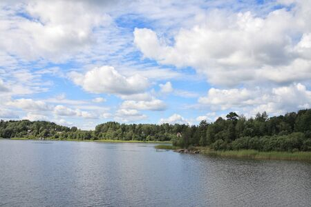 Islands in the Ladoga lake Stock Photo - 4467423