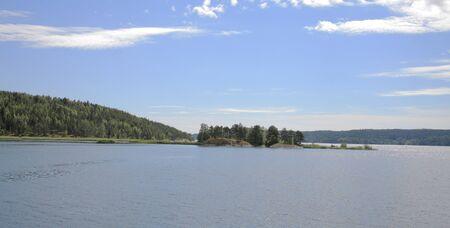 Islands in the Ladoga lake Stock Photo - 4467414