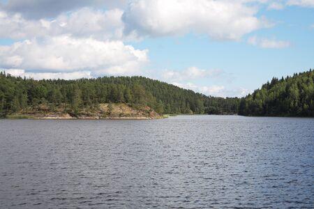 Islands in the Ladoga lake Stock Photo - 4467420
