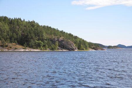 Islands in the Ladoga lake Stock Photo - 4467421
