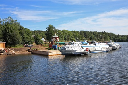 Valaam island  Stock Photo - 4491623
