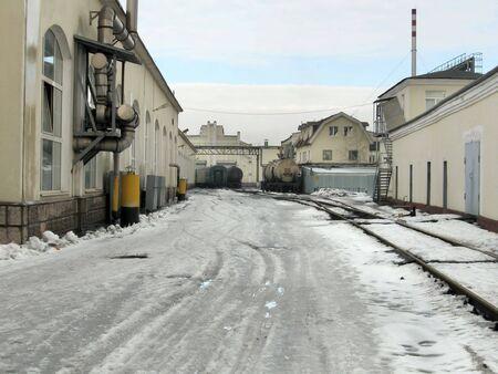 depot: Depot Stock Photo