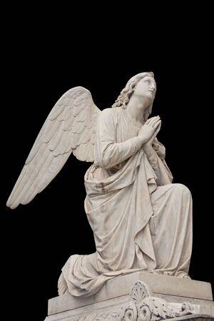 Angel, necropolis, 19 century  photo