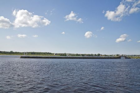 ladoga: Ladoga channel and Neva