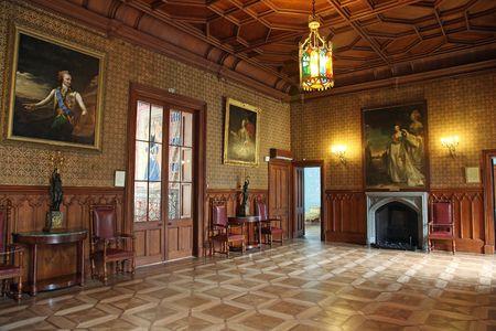 宮殿の内部