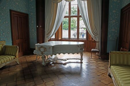 Interior of palace photo
