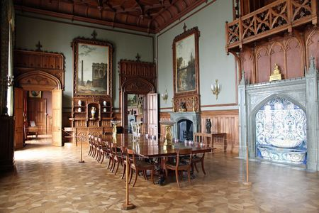 the summer palace: Interior of palace