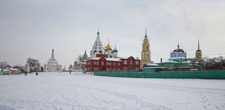 Kremlin is in town Kolomna photo