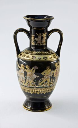faience: Vase