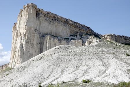 talus: Crimea, a mountain is the White cliff