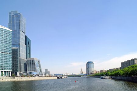 Moscow, the urban view photo