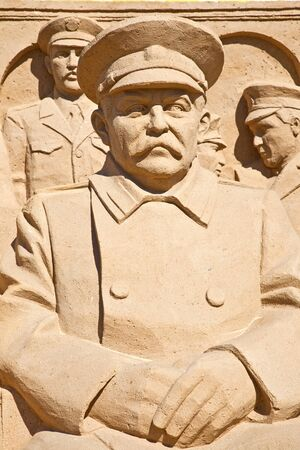 commissioner: Figures from the sand. Stalin