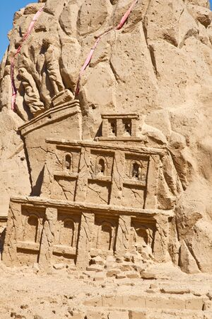 blasted: Figures from the sand. Blasted palace