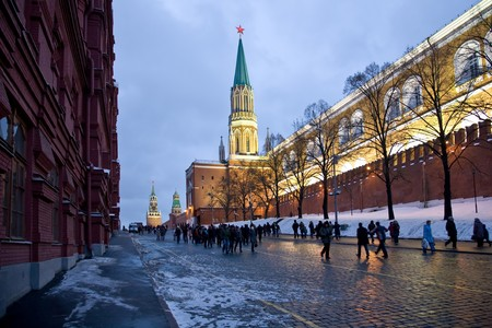 Kremlin and Historical museum Stock Photo - 7605436