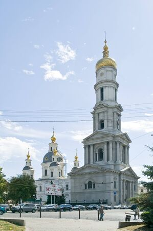 belfry: Alexandro-Nevskau belfry Stock Photo