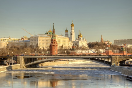 Moscow, Kremlin, the tone correction Imagens