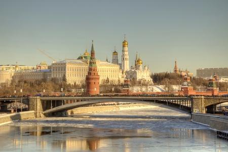 Moscow, Kremlin, the tone correction Standard-Bild