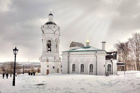 Architectural complex Kolomenskoye. Tone correction photo