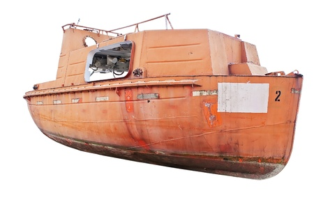 Old rescue boat Stock Photo - 9225255