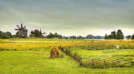 Rural landscape photo