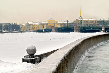 neva: Embankment of Neva