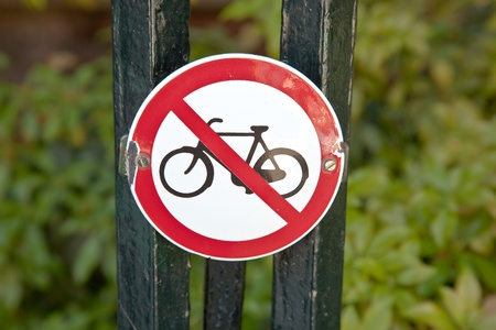 forbids: Sign Stock Photo