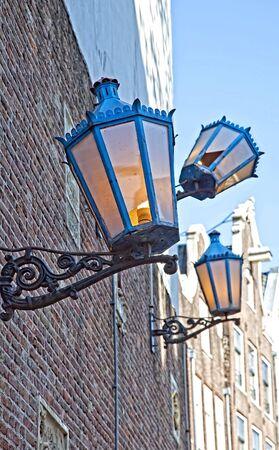 lopsided: Lanterns Stock Photo