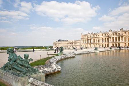 ベルサイユ宮殿 写真素材