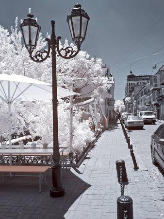 Odessa, the urban view.  IR 新聞圖片