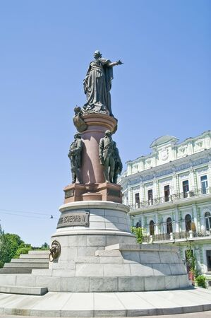 Monument to the founders of Odessa photo