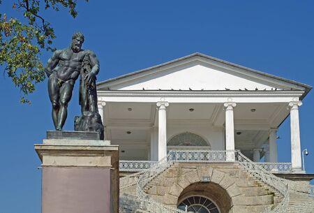 tsarskoye: City Pushkin. Tsarskoye Selo