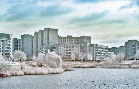 infra red: Moscow, infra-red