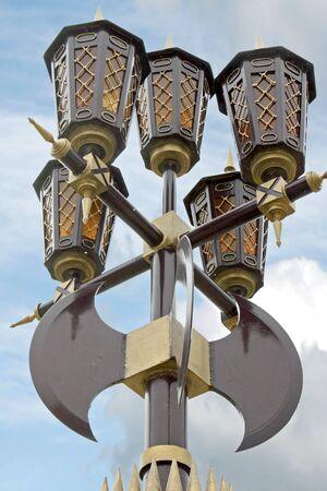 alabarda: Lanterna decorativi Archivio Fotografico