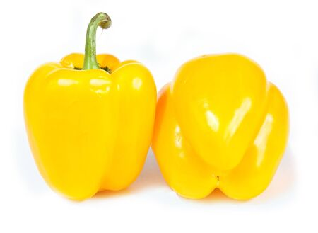 Sweet pepper on a white background photo