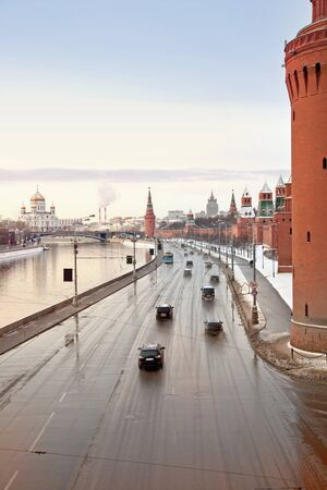 Kremlin embankment photo