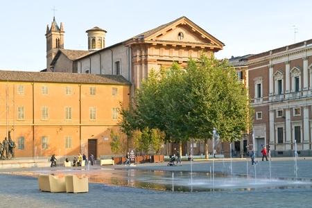 emilia: Reggio Emilia. Fountain