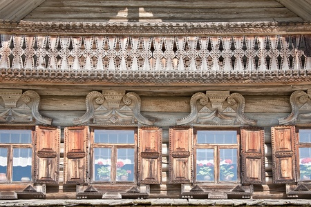 Facade of ancient house Stock Photo - 12305790