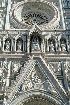 Facade of Basilica di Santa Maria del Fiore  photo