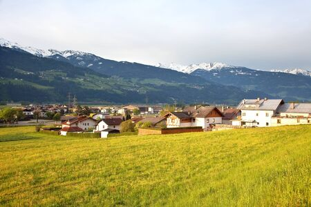 Village in the Alps photo