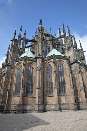 vitus: Cathedral of Saint Vitus, Prague Stock Photo