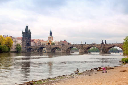 Vltava river Stock Photo - 14070550