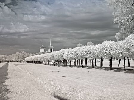 kuskovo: Farmstead Kuskovo Stock Photo
