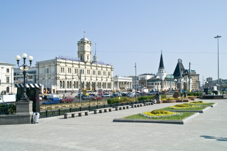 Square in Moscow  Stock Photo - 14444751