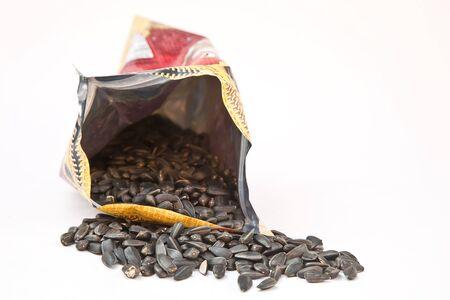 Roasted sunflower seeds Stock Photo - 14557231
