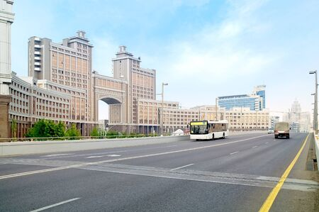 astana: Astana. Municipal landscape Stock Photo