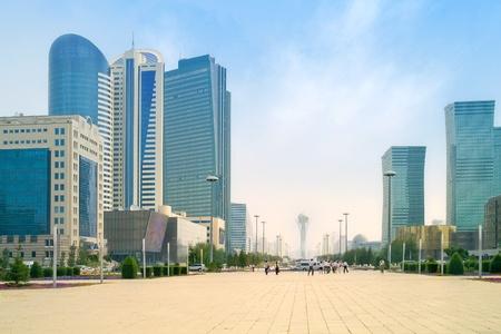 houses street: Astana. Municipal landscape